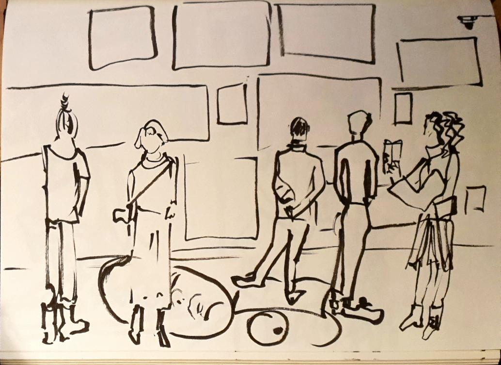 Museum bezoek https://www.museumdefundatie.nl/nl/yuri-honing-mariecke-van-der-linden/